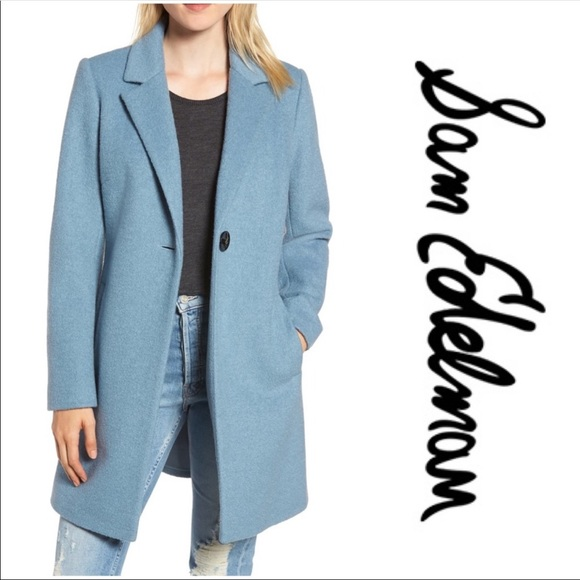 Sam Edelman Jackets & Blazers - Sam Edelman Blazer Coat/Jacket (Light Blue)